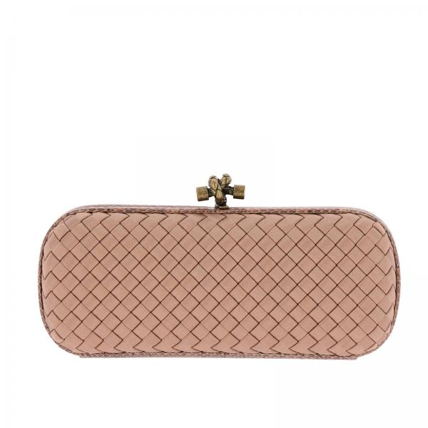 4a06811f62a0 Bottega Veneta Women s Pink Clutch