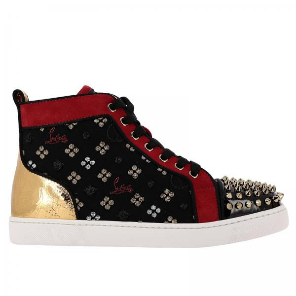 tout neuf 3bb53 d95af Baskets Chaussures Femme Christian Louboutin