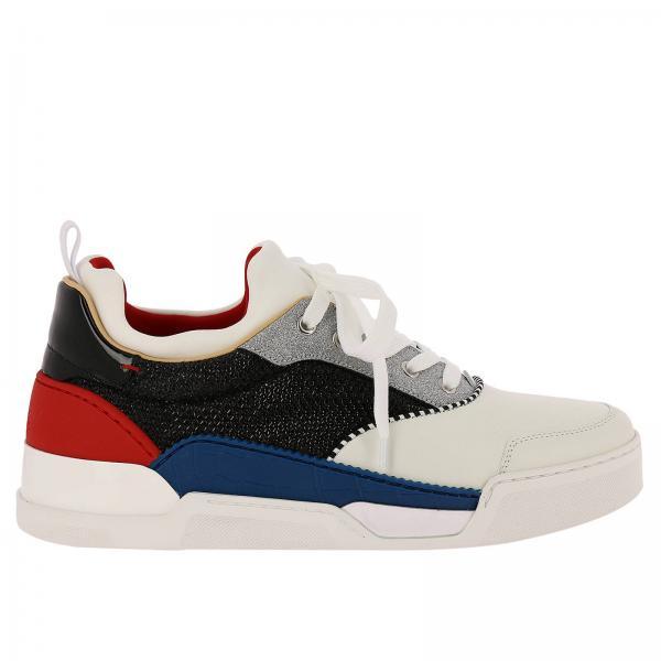 Christian Louboutin Men s White Sneakers  2f62f82ffc8a