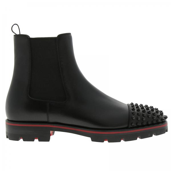 chaussure louboutin noir homme