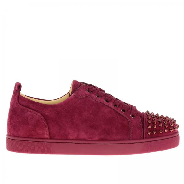 Christian Louboutin Men s Wine Sneakers  a2208f98701a