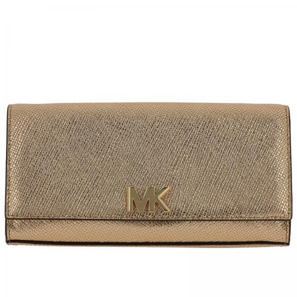 62b4d5f1f58 Michael Michael Kors Women's Gold Clutch   Shoulder Bag Women ...