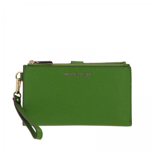 Wallet Women Michael Michael Kors Green b95eb27a4e
