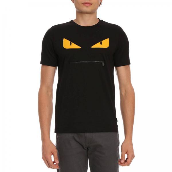 Fendi Men s T-shirt  f7a90dbbf780