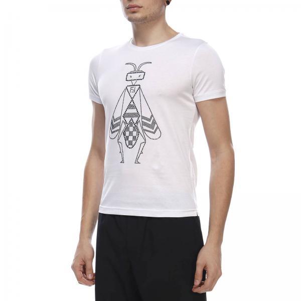 Moschino t-Shirt a Manica Corta Interamente logata