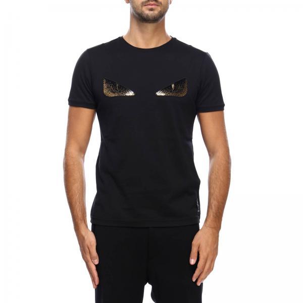 27b0cfc7fb27 Fendi Men s Black T-shirt