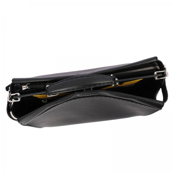 7va388 Fendi Interni Uomo Pelle Con Large Bag Bugs Borsa In Grana X4k A Eyes NeroPeekaboo EH9W2YIeD