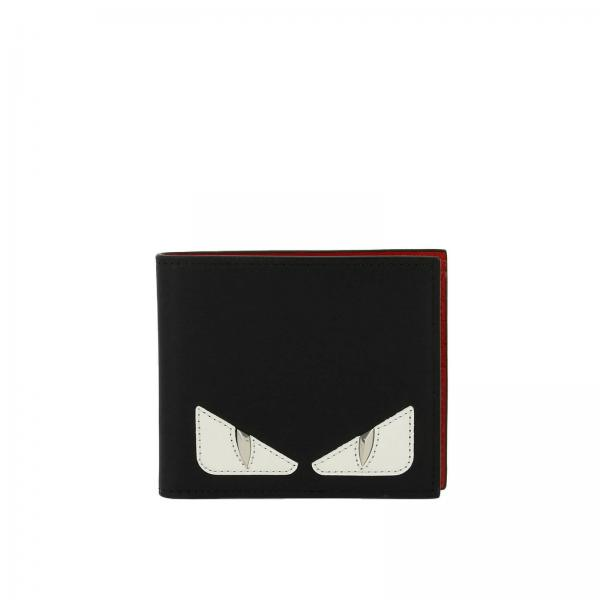 8cc09588046 Fendi Men s Black Wallet