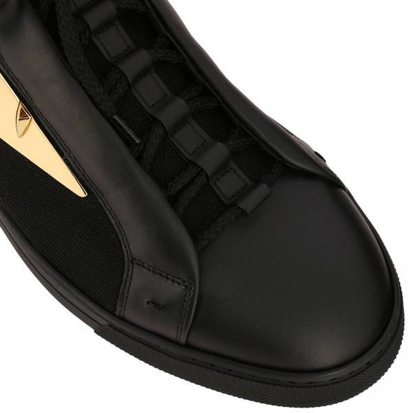 Tela Sneakers Bugs Pelle Con Metal In Calzino Maxi Stringata Eyes Bag Vera E DE9WHIY2