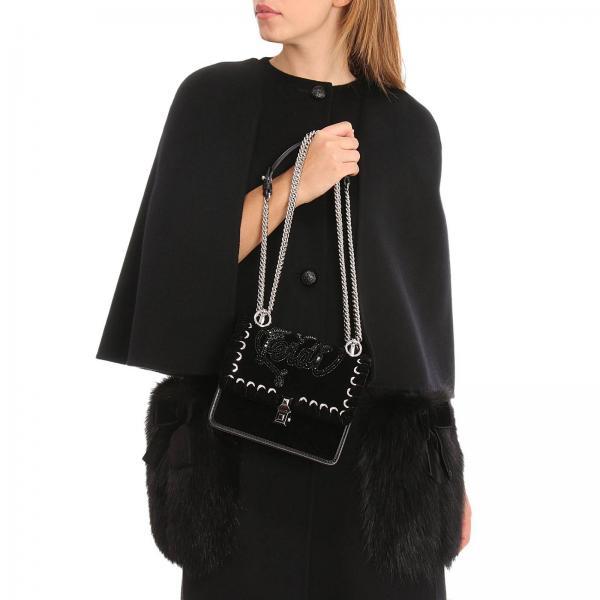 Mujer Artículo Mini 8m0381 Fendi Continuativo A44kgiglio Bolso Negro Ox5T5Y7q