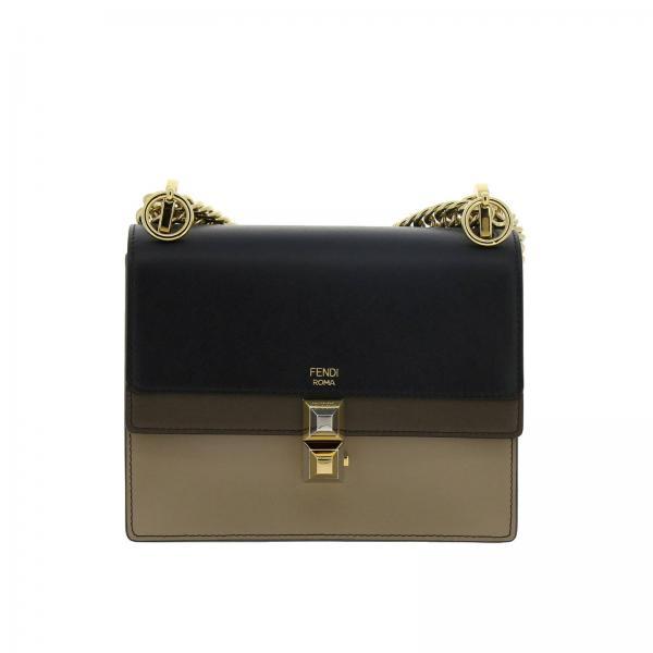 Mini sac à main Femme Fendi   Sac Porté épaule Femme Fendi   Mini Sac à  Main Fendi 8m0381 A5av - Giglio FR 02116f9836b