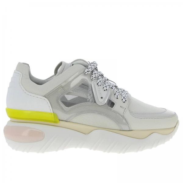 Gomma Sneakers E In Pelle Martellata Stringata Pvc sQhrtd