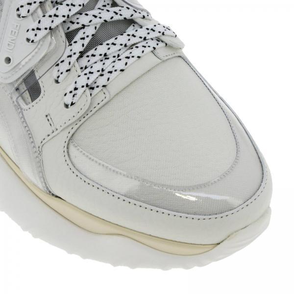 In Martellata E Stringata Pelle Pvc Gomma Sneakers USzMVqp