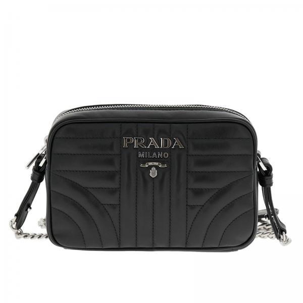 Prada Women S Mini Bag Prada Diagramme Bag Small Quilted