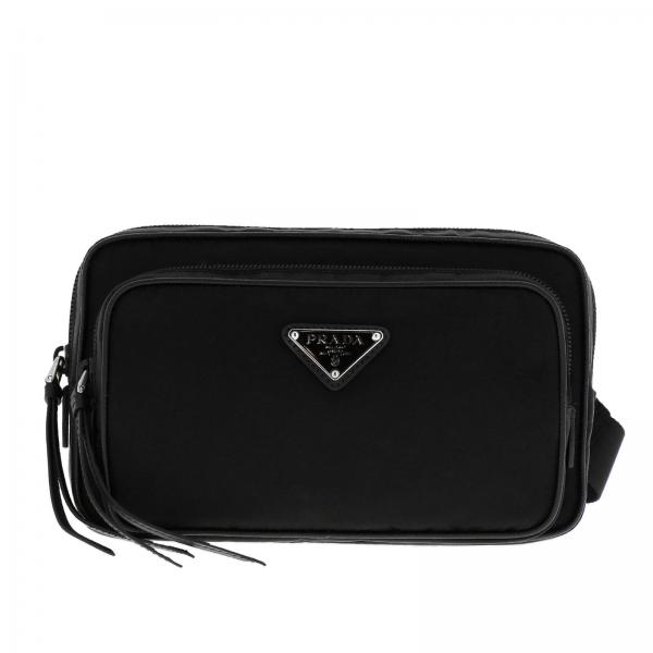 30e8dfb534 Prada Women s Black Belt Bag