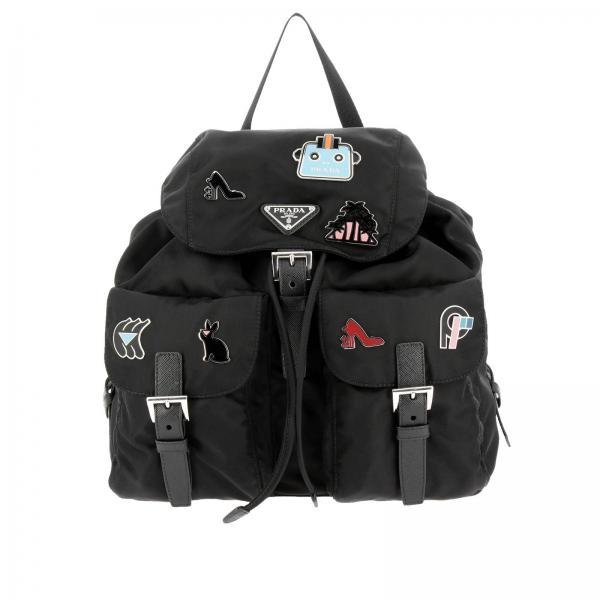 09b983e7c5d5 Prada Women s Black Backpack