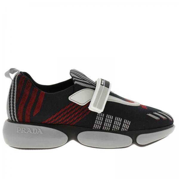 475216adc06f Baskets Femme Prada   Chaussures Femme Prada   Baskets Prada 1e651i 1qcm -  Giglio FR