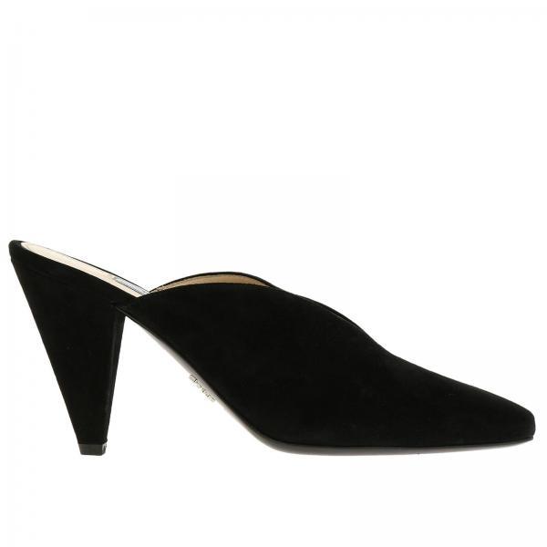 Scarpe con tacco Donna Prada Nero  57300e3d559