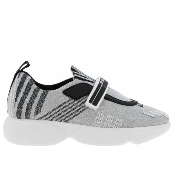 7af2be7c7795 Sneakers Women Prada Silver
