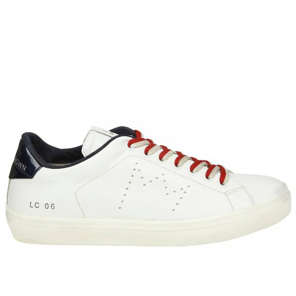 Baskets Homme Homme Leather Baskets Leather Crown Baskets Chaussures Homme Crown Leather Chaussures rr8x6qaA