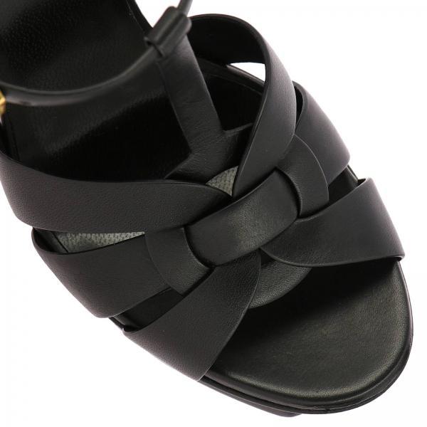 Sandalo Tribute Pelle Classic Spazzolata Con In Plateau KJFTl1c