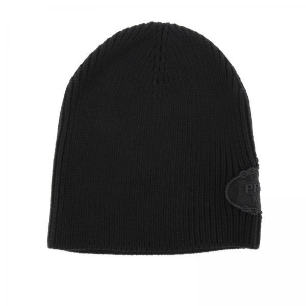 Cappello Uomo Prada Nero  e982a9c05250