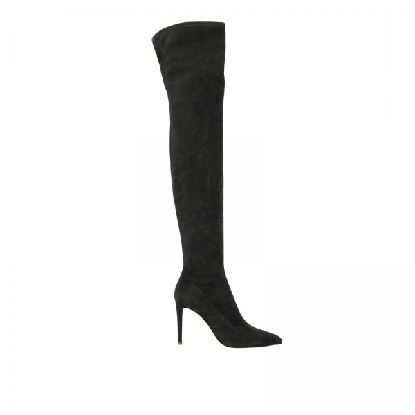 c37717319b72 Sergio Rossi Women s Black Boots   Shoes Women Sergio Rossi   Sergio ...