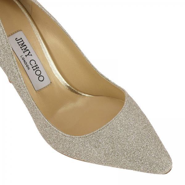 Salón Zapatos Mujer Artículo Choo Jimmy Plata Continuativo Romy De 100 Dgzgiglio a7Fqw5U