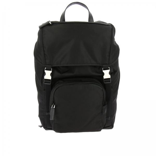 Prada Men s Black Backpack  060a30d4b531b