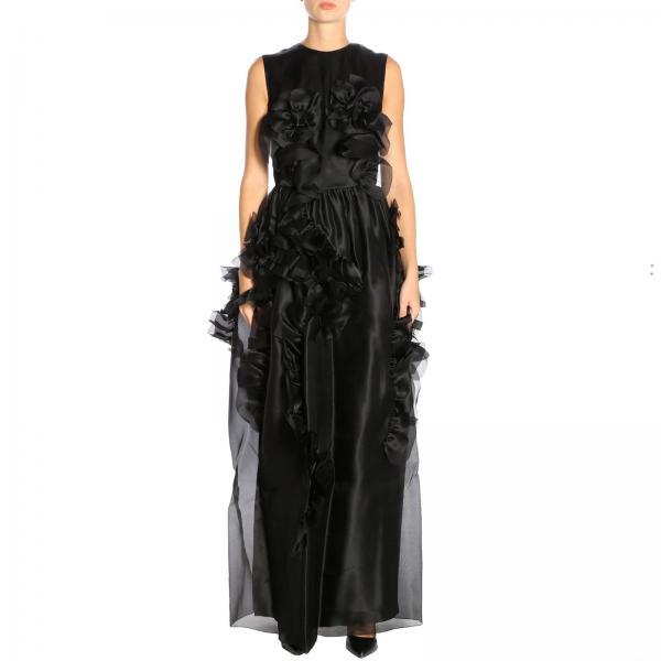 Vestido Mujer Ermanno Scervino Negro  e7b586105e85