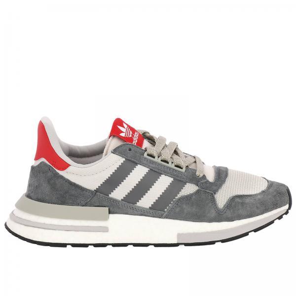 zapatillas hombre gris adidas