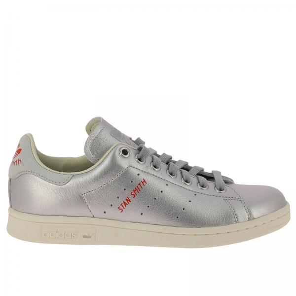 adidas donna stan smith argento