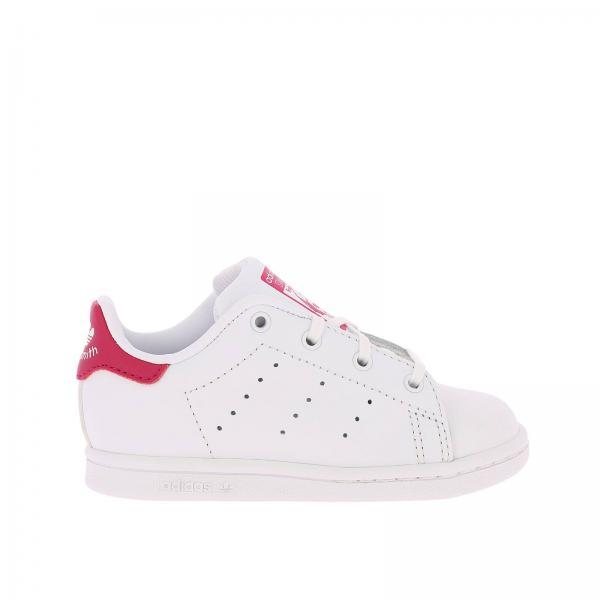 72d09f49482f Adidas Originals Little Girl s White Shoes