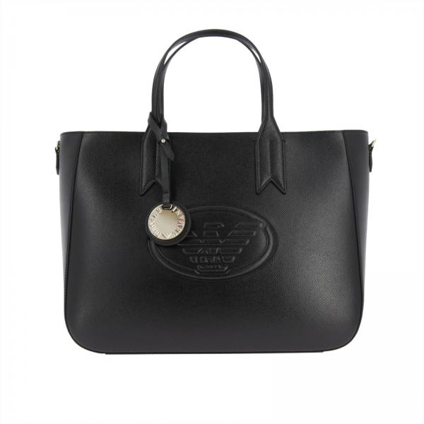 d04e884e2f47 Emporio Armani Women s Black Handbag