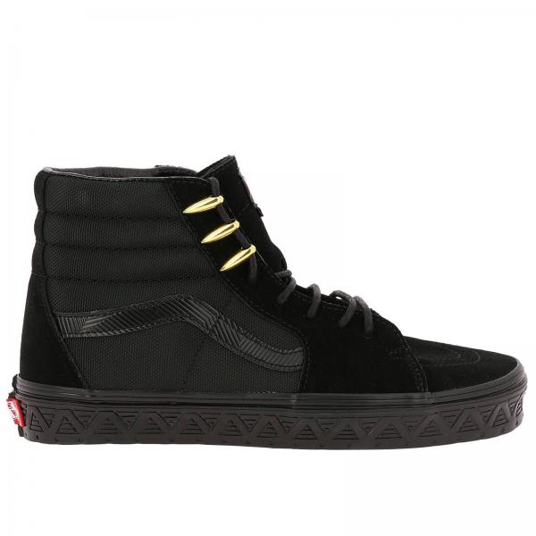 new concept 80615 2a949 Vans marvel sk8-hi limited edition high-laced canvas and suede sneakers  with marvel overlay
