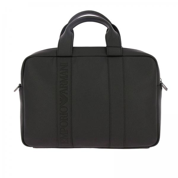 Emporio Armani Men s Black Travel Bag  b99b201b4a