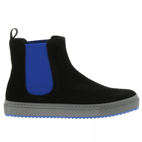 Armani garçon Emporio Noir Emporio Chaussures Chaussures Enfant Z8qUwEZ