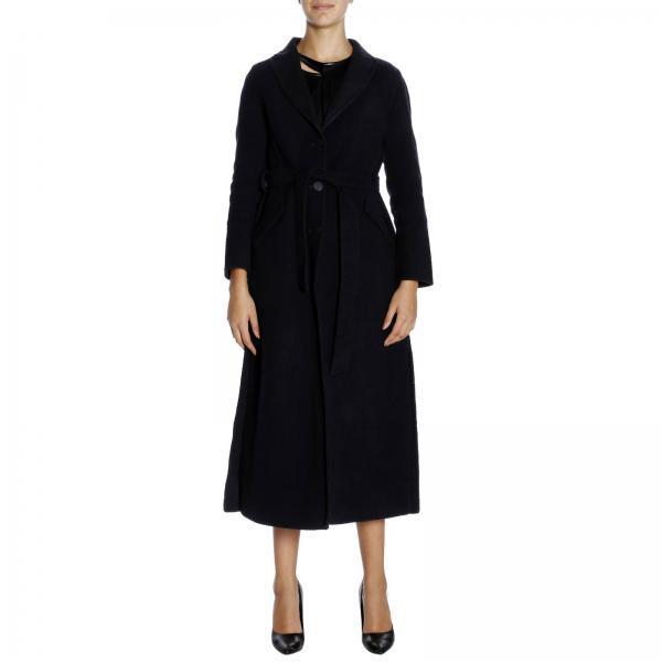 new product e3573 cac31 Cappotto a monopetto classic in panno di lana