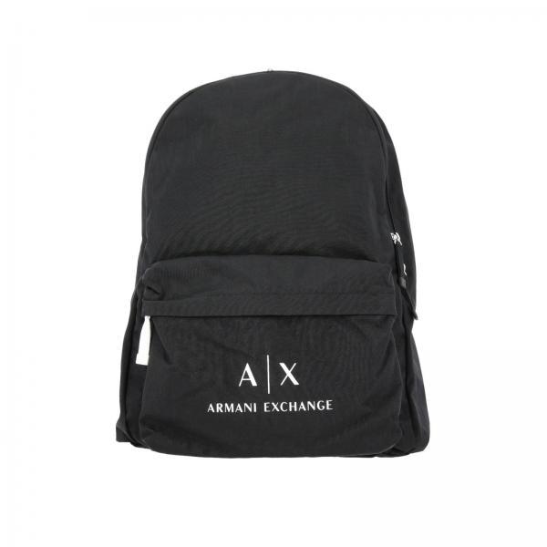 c2c0bf5e9b6 Armani Exchange Men s Black Backpack   Bags Men Armani Exchange   Giorgio Armani  Backpack 952103 Cc511 - Giglio EN