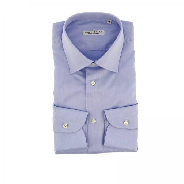 Camicia classica con collo italiano