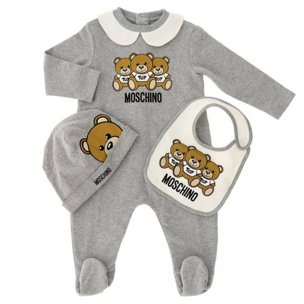4536d5311cdb Romper Baby Moschino Baby Grey