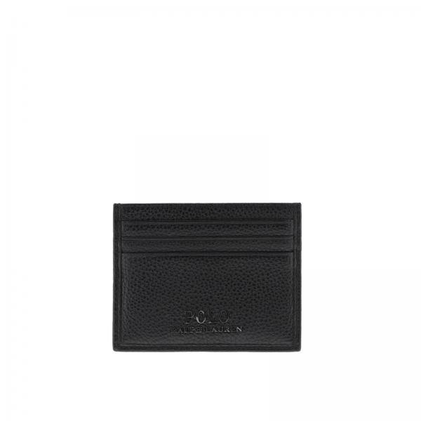 hot sale online b6bae 7f75c Porta carte di credito in pelle martellata