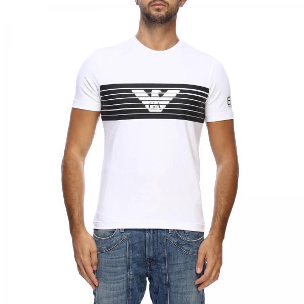Camiseta Hombre Ea7 Blanco. -30%. Camiseta EA7 Blanco - 1   GIORGIO ARMANI  ... 546777189e