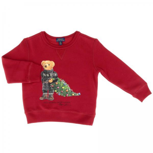 Polo Ralph Lauren Toddler Little Boys Red Sweater Sweater Kids