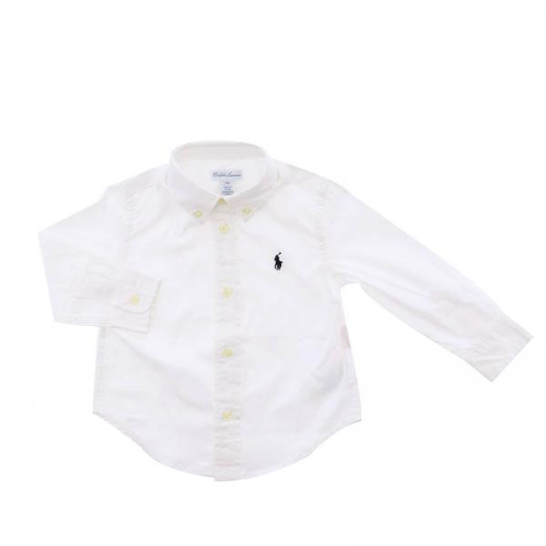 Chemise bébé Polo Ralph Lauren Infant   Chemise Enfant Polo Ralph ... d3ddf092b939