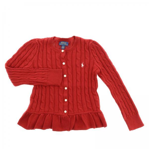Pullover für Mädchen Polo Ralph Lauren Kid Rot   Pullover Polo Ralph ... 94c86427ed