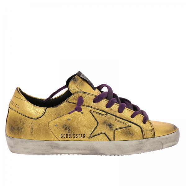 53e1ca4e52d24 Golden Goose Women s Gold Sneakers