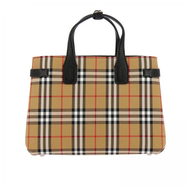 Handbag Women Burberry Camel