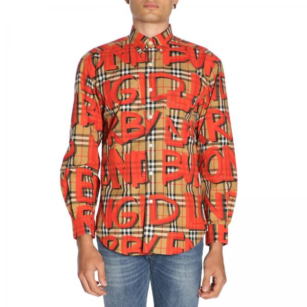 Chemise Homme Burberry Rouge   Chemise Homme Burberry   Chemise Burberry  8002928 - Giglio FR 400dc0a388fd