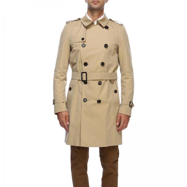Пальто Мужское BURBERRY Бежевый  3b0daf7567bb6
